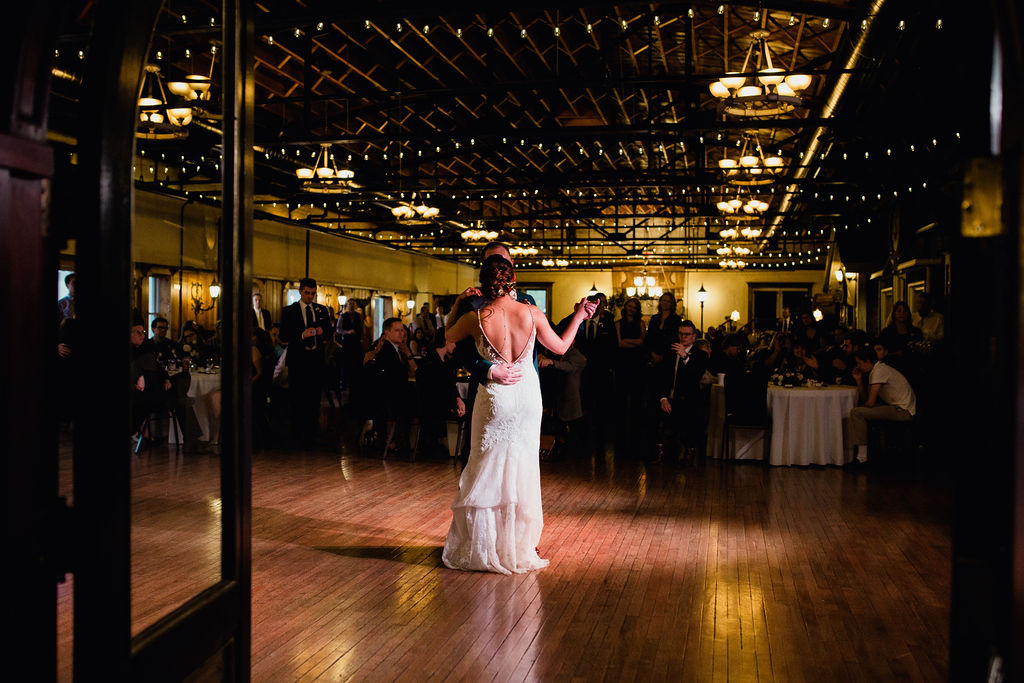 61 first dance together as husband and wife ceremony rachel desjardins studio wedding story telling moments photography kellermans event center minnesota emotional.jpg