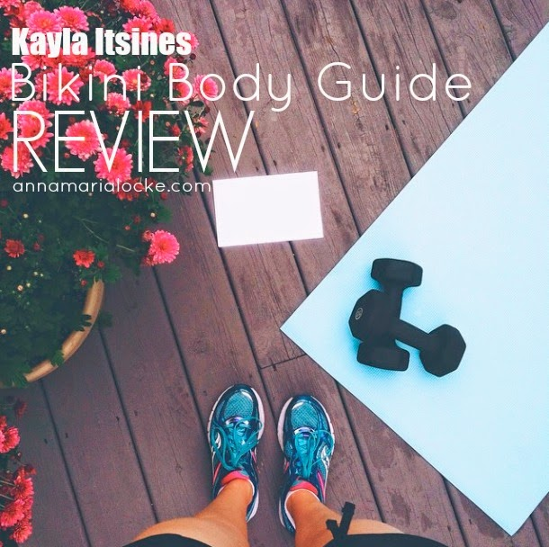 Kayla Itsines BBG Review, annamarialocke.com