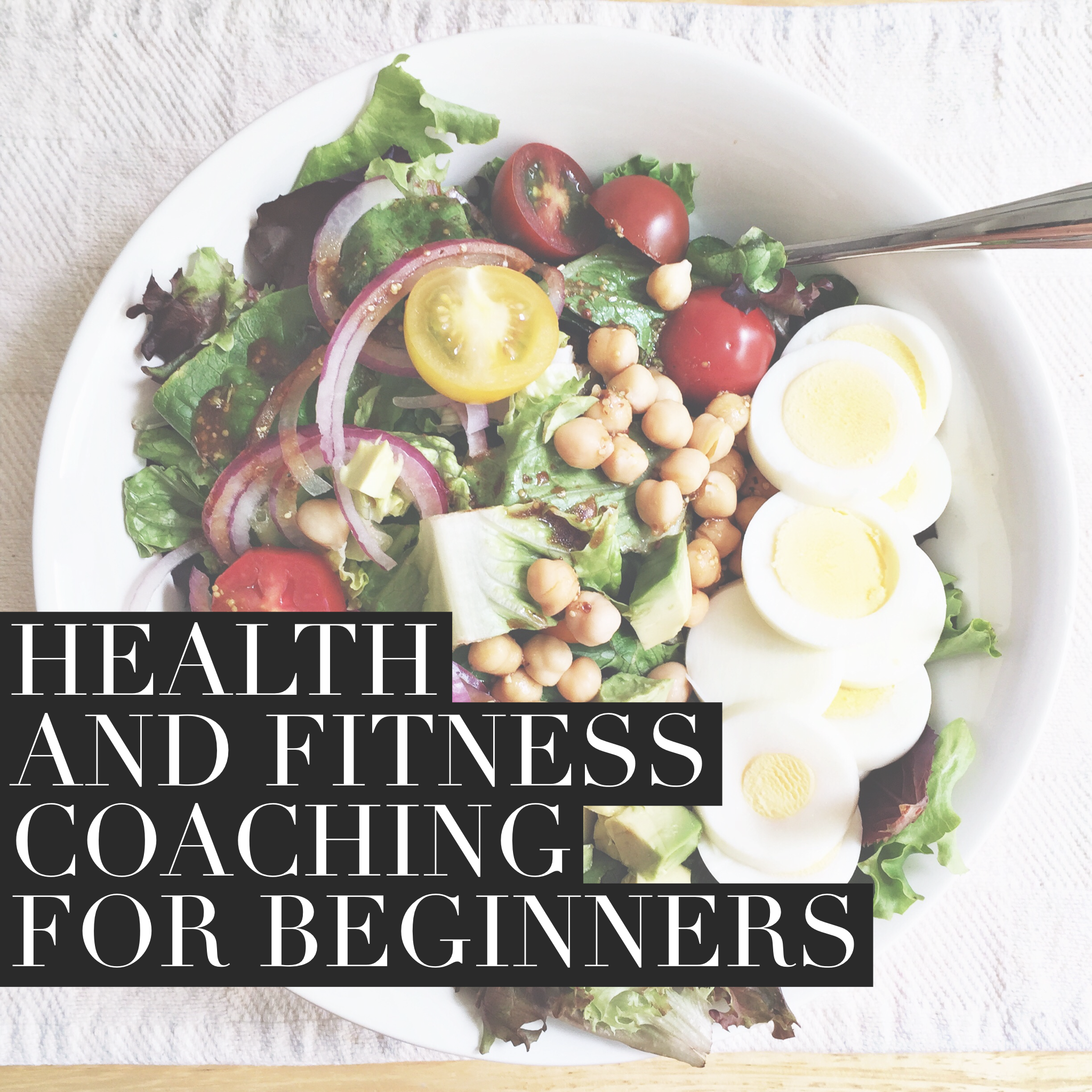 health and fitness coaching for beginners