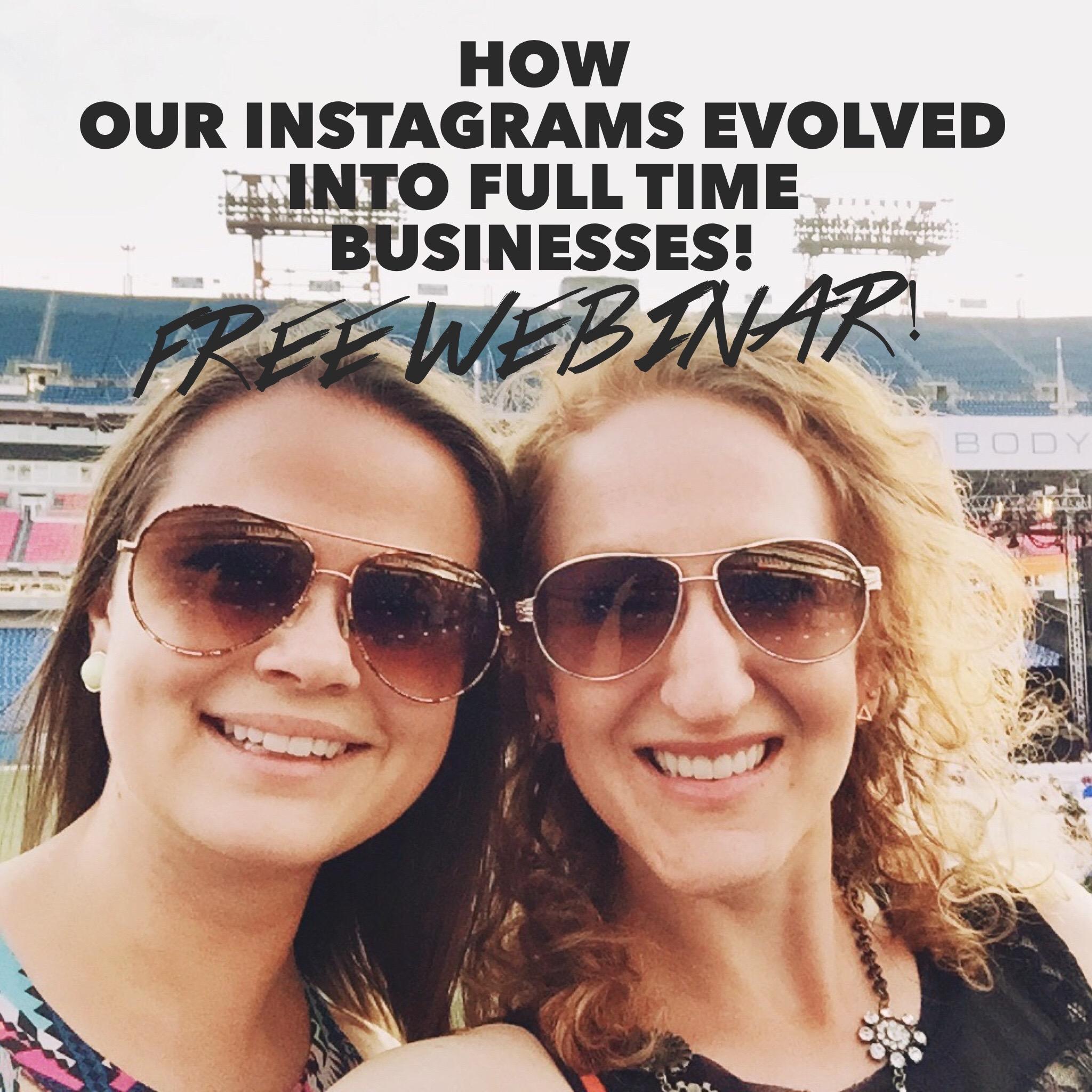 Instagram to Coaching Webinar