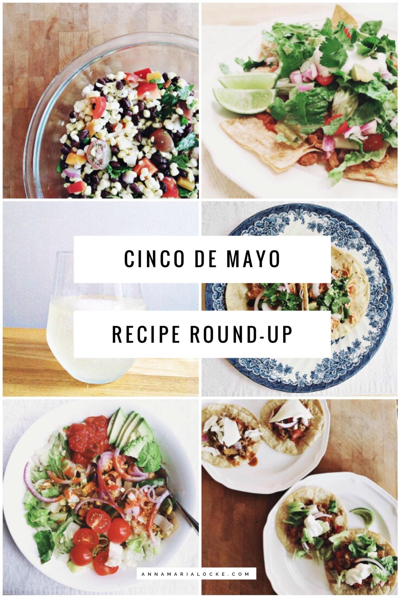 Cinco de Mayo Healthy Recipe Round-Up!