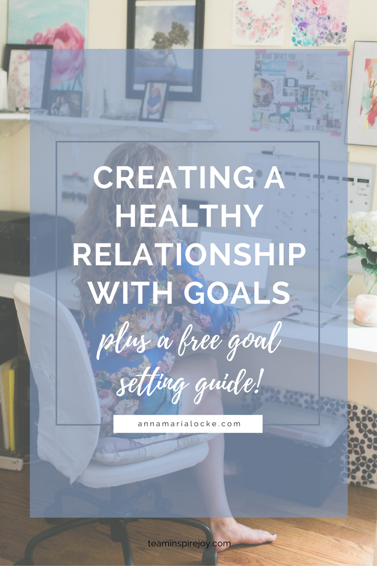 building confidence and creating a healthy and positive relationship with goals