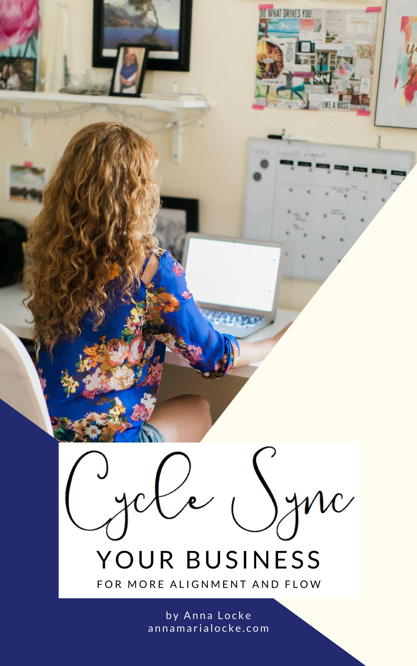 cycle sync your biz ebook