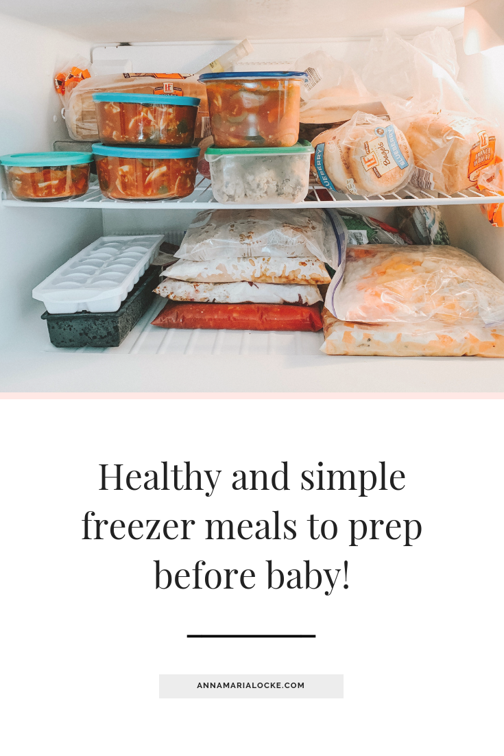 Healthy simple freezer meals to prep before baby arrives.png