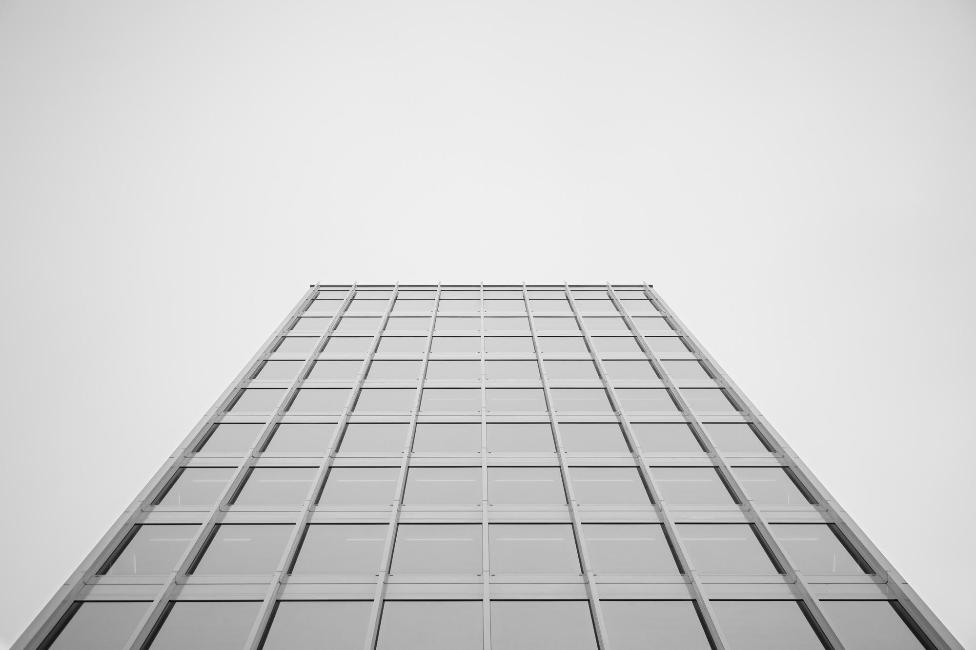 La tour  Edipresse  à Lausanne.