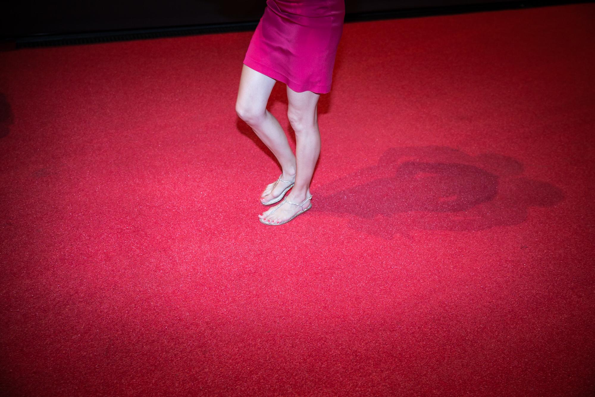 71ème édition du Locarno Festival. Sur le Red Carpet.