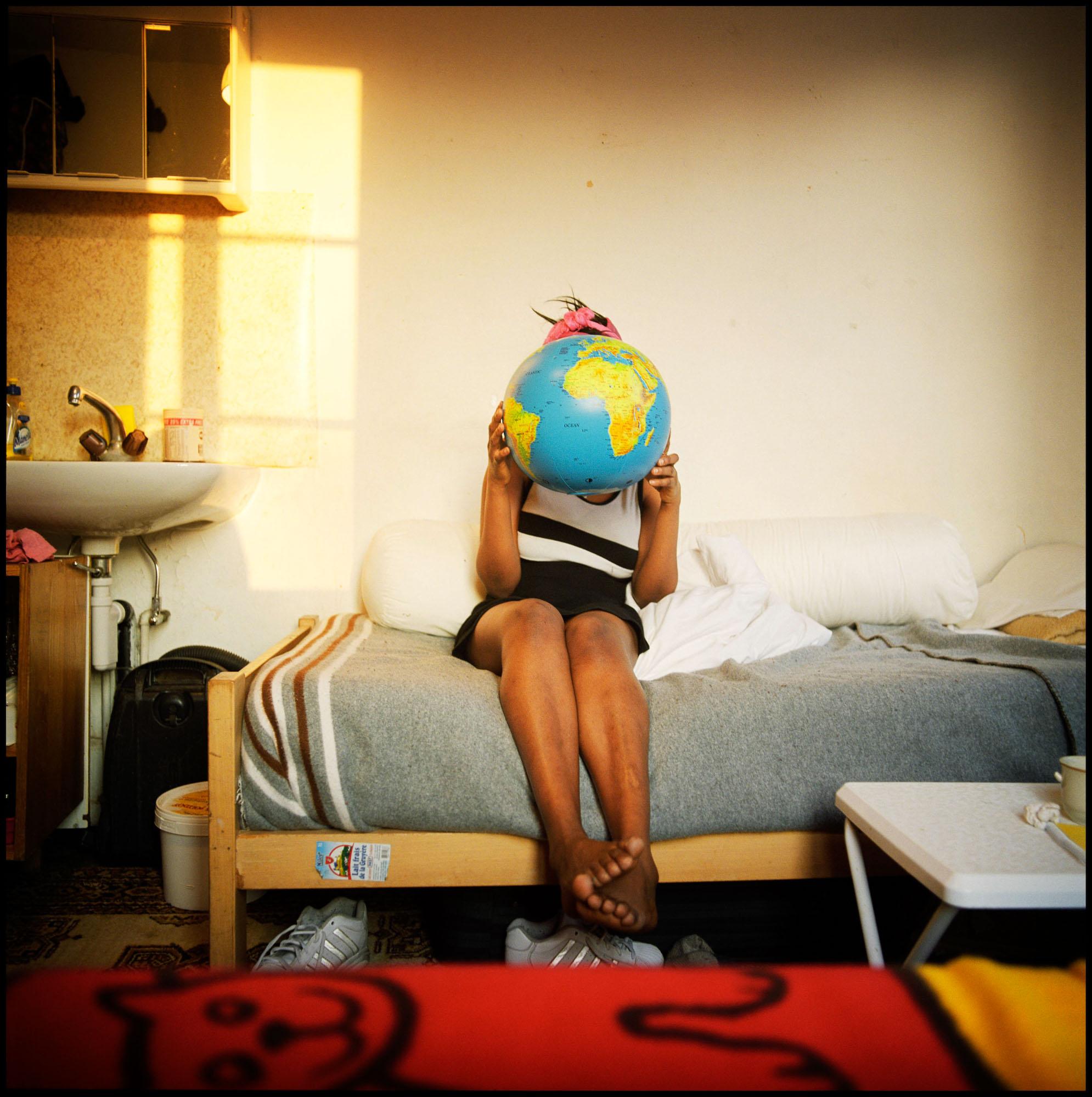 Mlle X, 24ans, Guinée, requérant d'asile. Fribourg, Suisse.