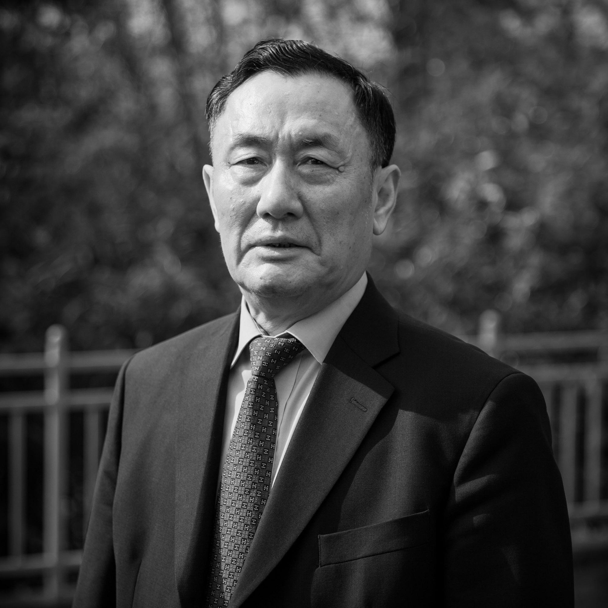 Geng Wenbing, ambassadeur de Chine en Suisse. Ici dans la résidence de l'ambassadeur.