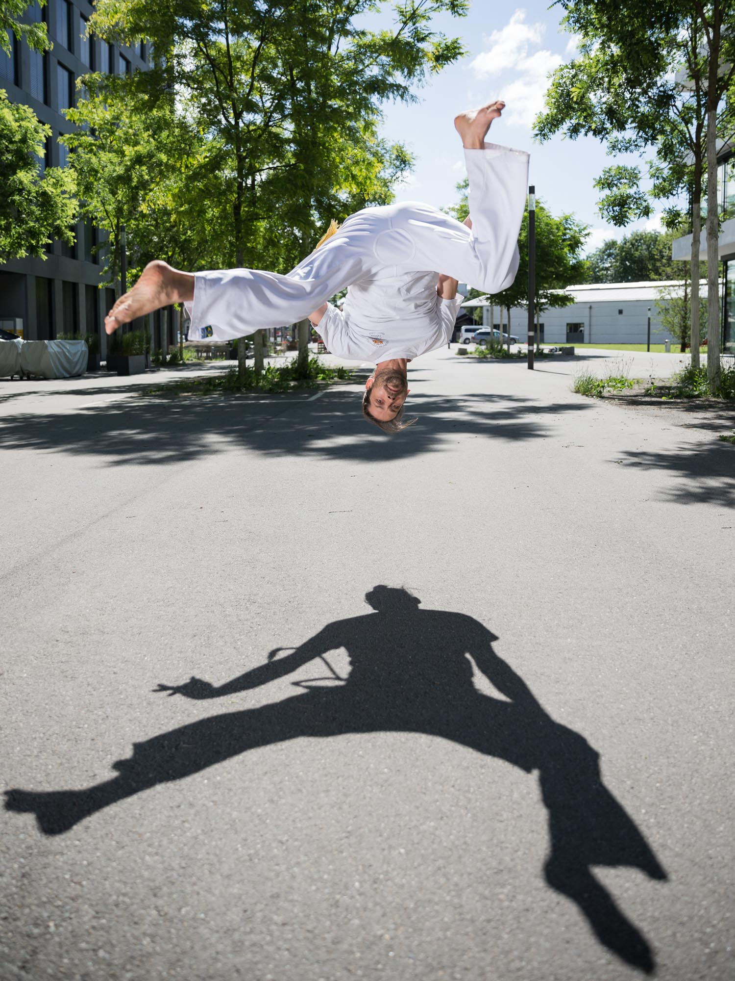 Stefan Jeker, professeur de capoeira à Berne.