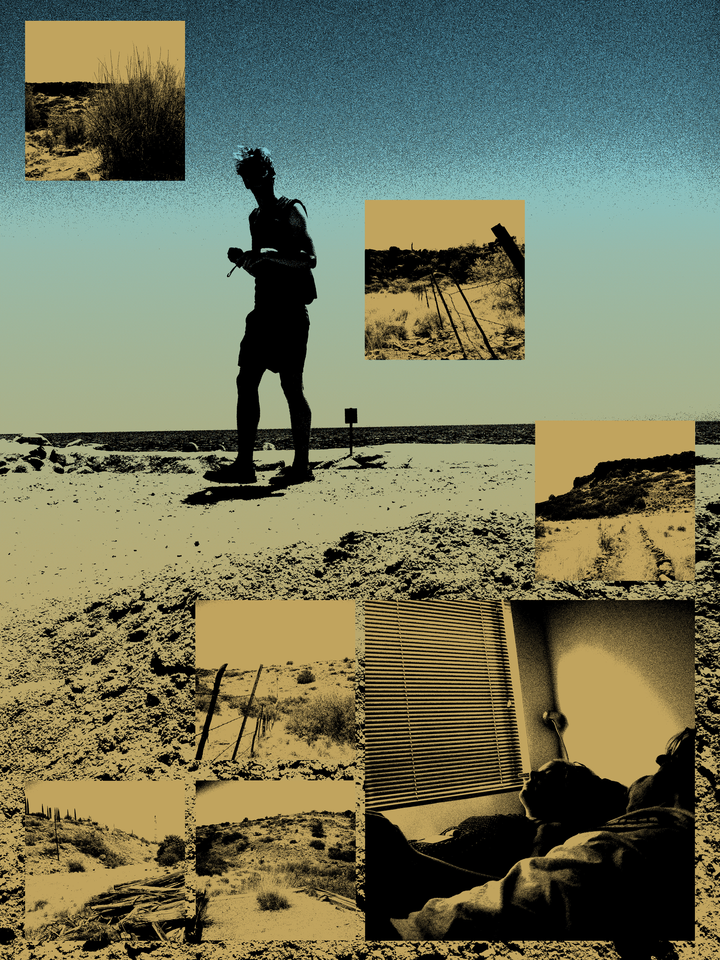 Untitled (Salton Sea --> Arcosanti)