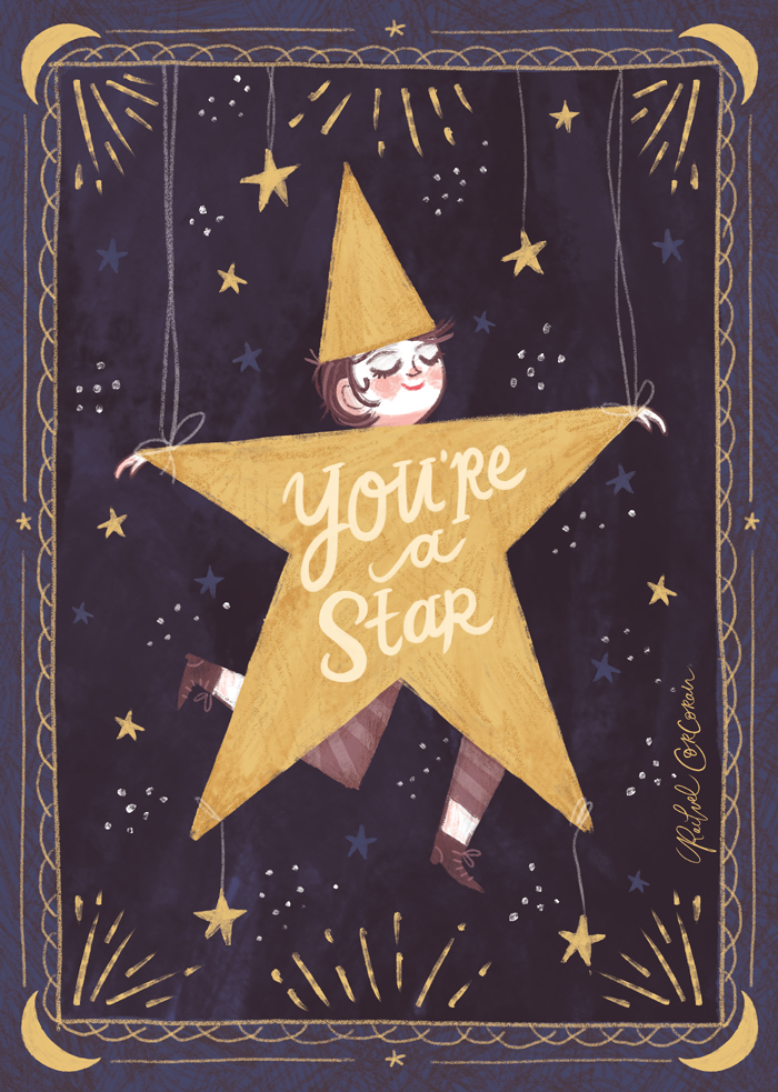 You're a Star illustration by Rachel Corcoran