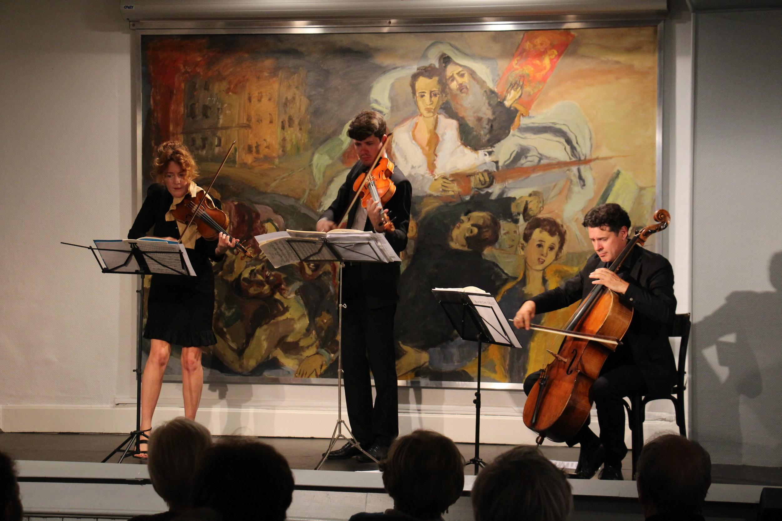Desirée Ruhstrat, Violin / Aurélien Fort Pederzoli, Viola / David Cunliffe, Cello