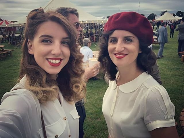 Goodwood revival #1940s #dressup #vintagestyle #fashion