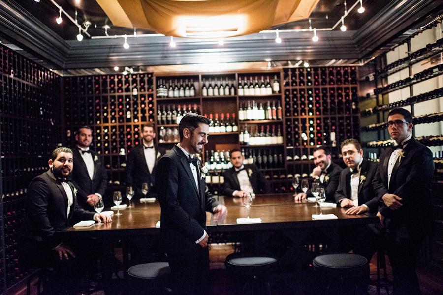 pasadena-wedding-planner-Langham-Huntington-wine-cellar