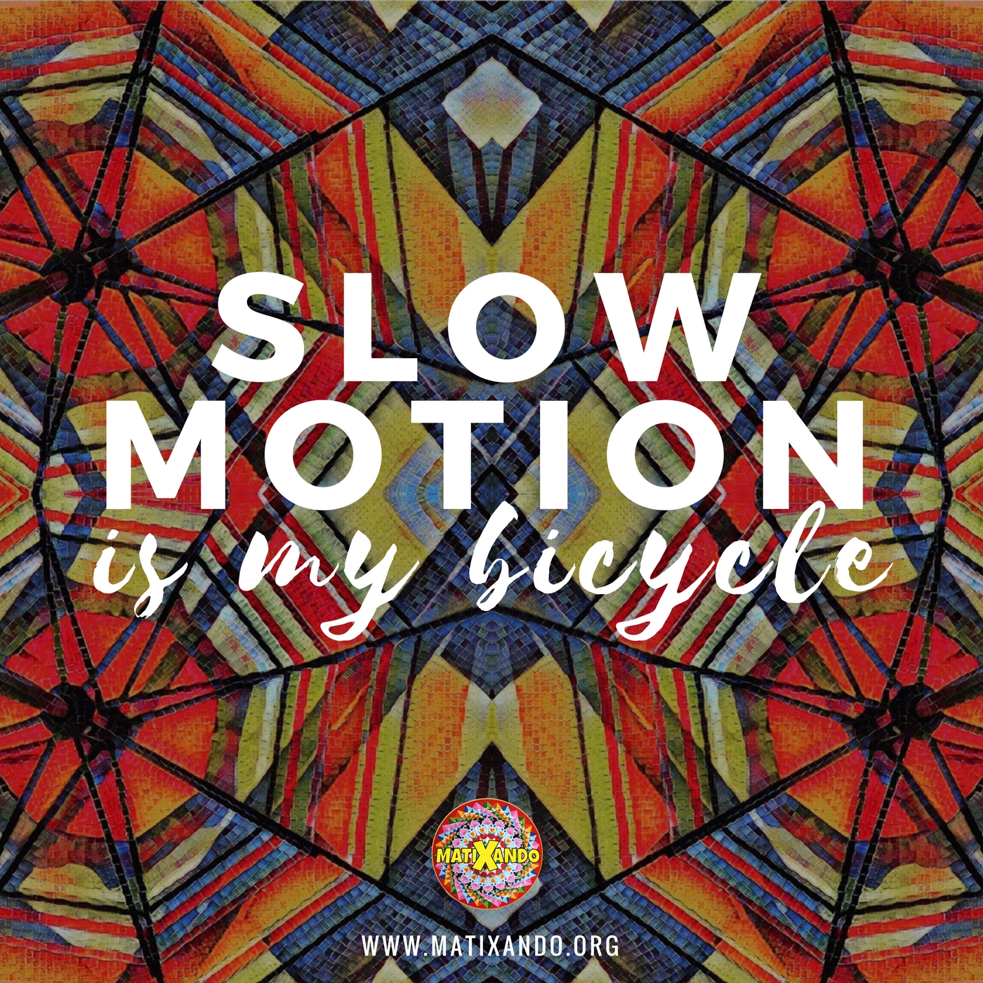 Slow Motion is my Bicycle