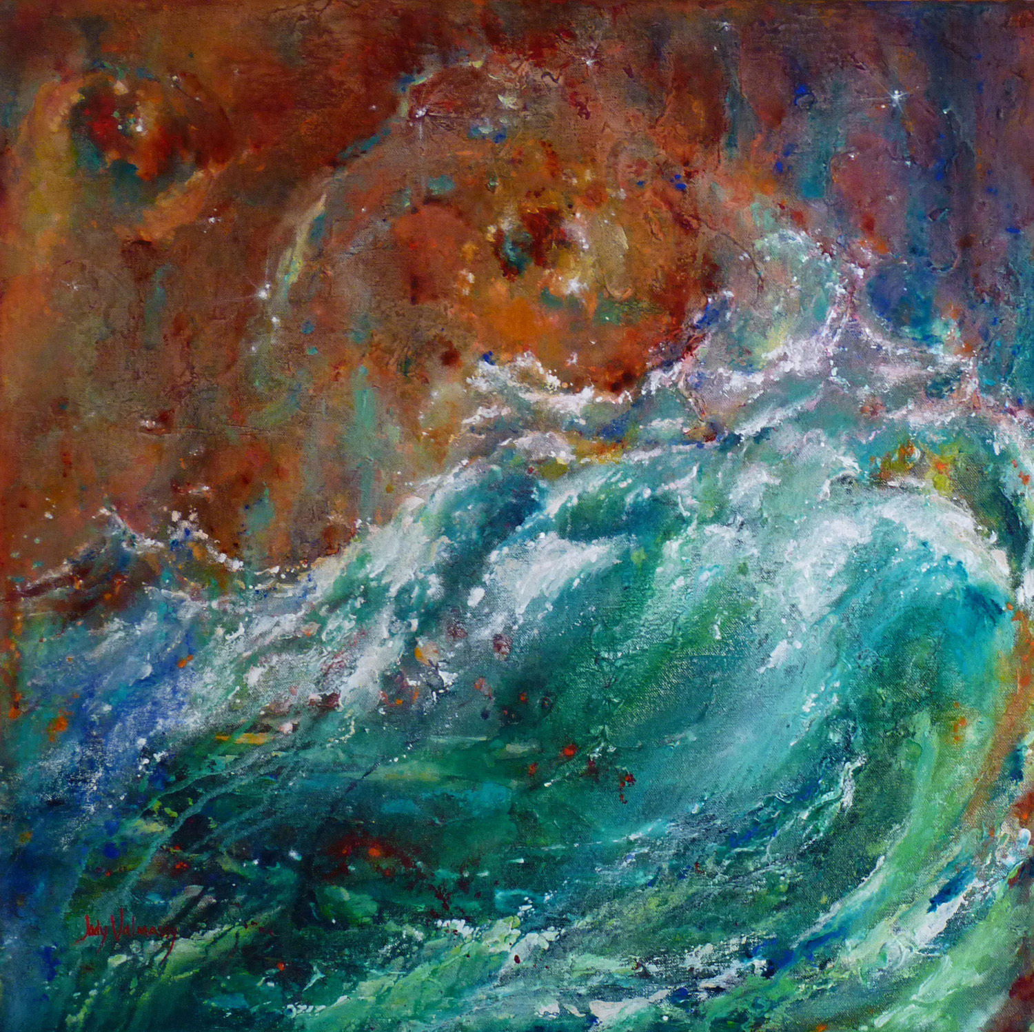 Dancing Waves - SOLD