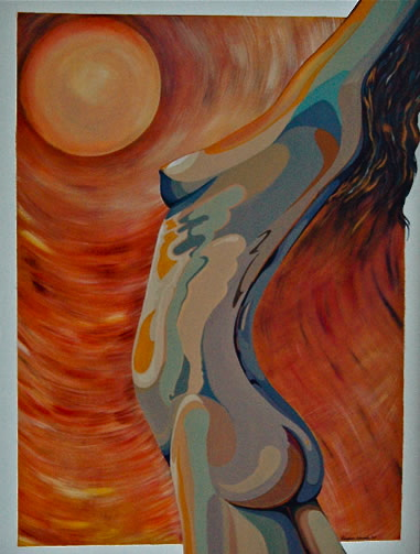Salute to the Sun   SOLD