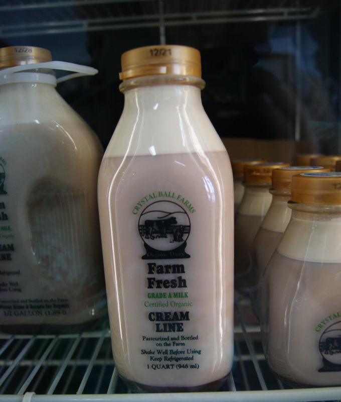 Crystal Ball Farms Organic Chocolate Milk