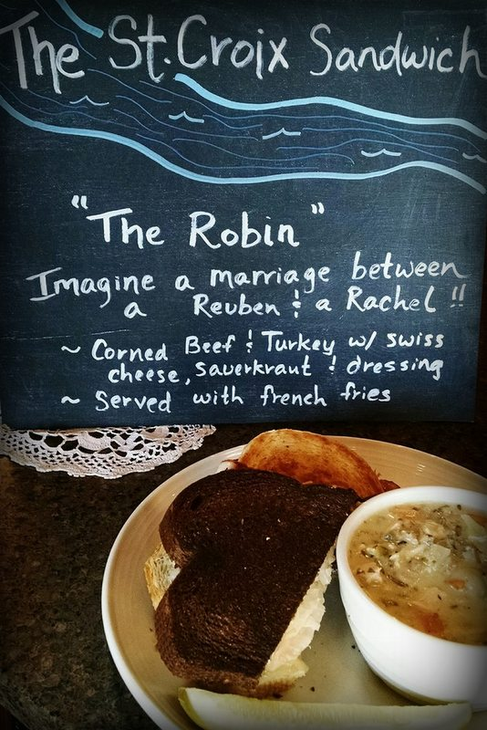 """The Robin"" at The Watershed Cafe"