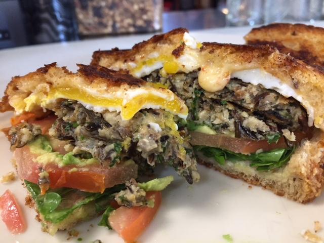 Wild Rice Breakfast Sandwich