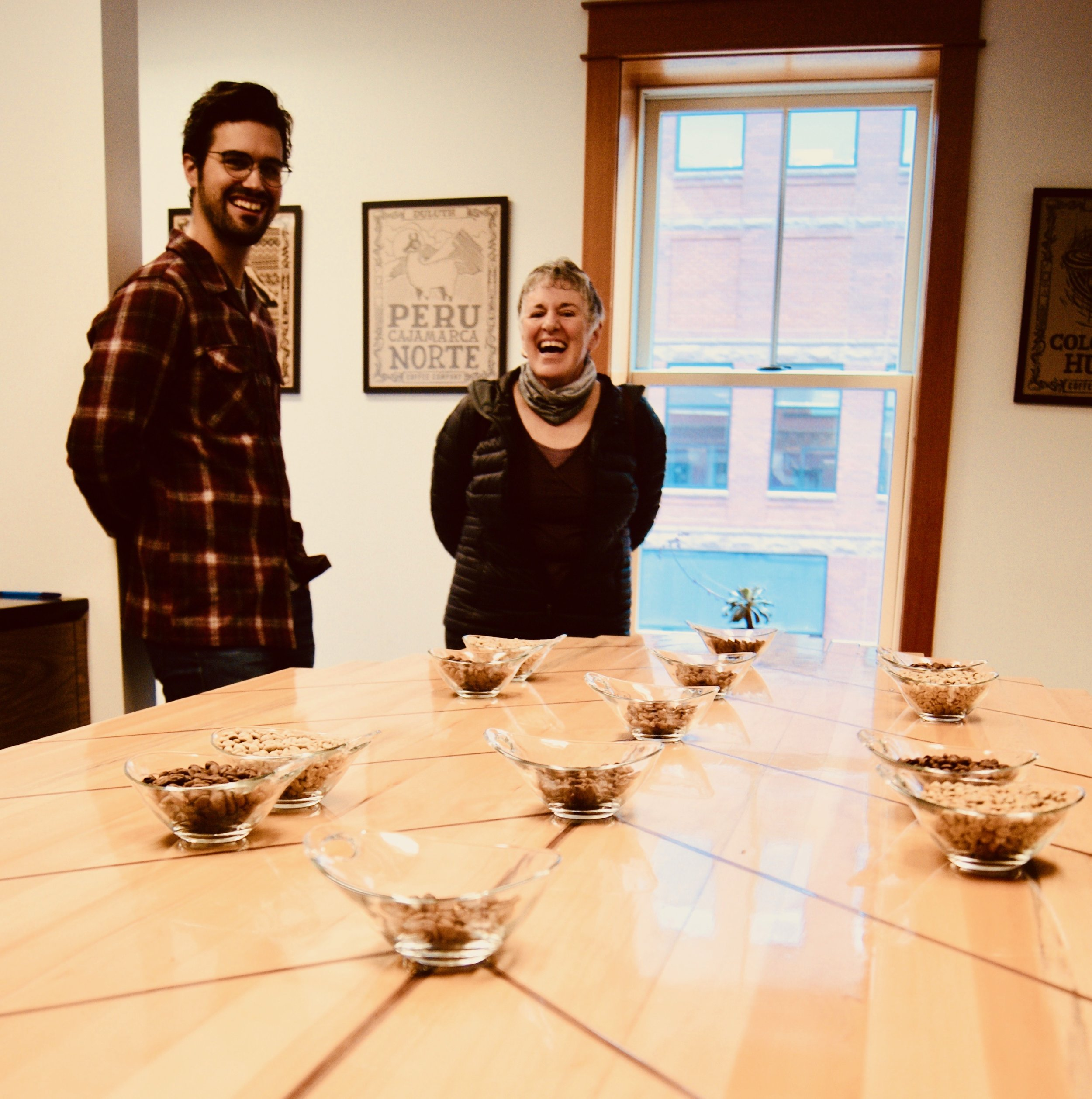 Sam Levar and Rita Rasmuson