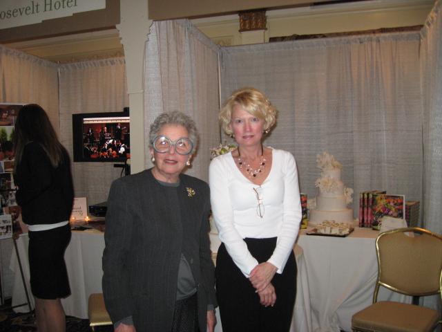 Tina Zabetakis and Sylvia Weinstock