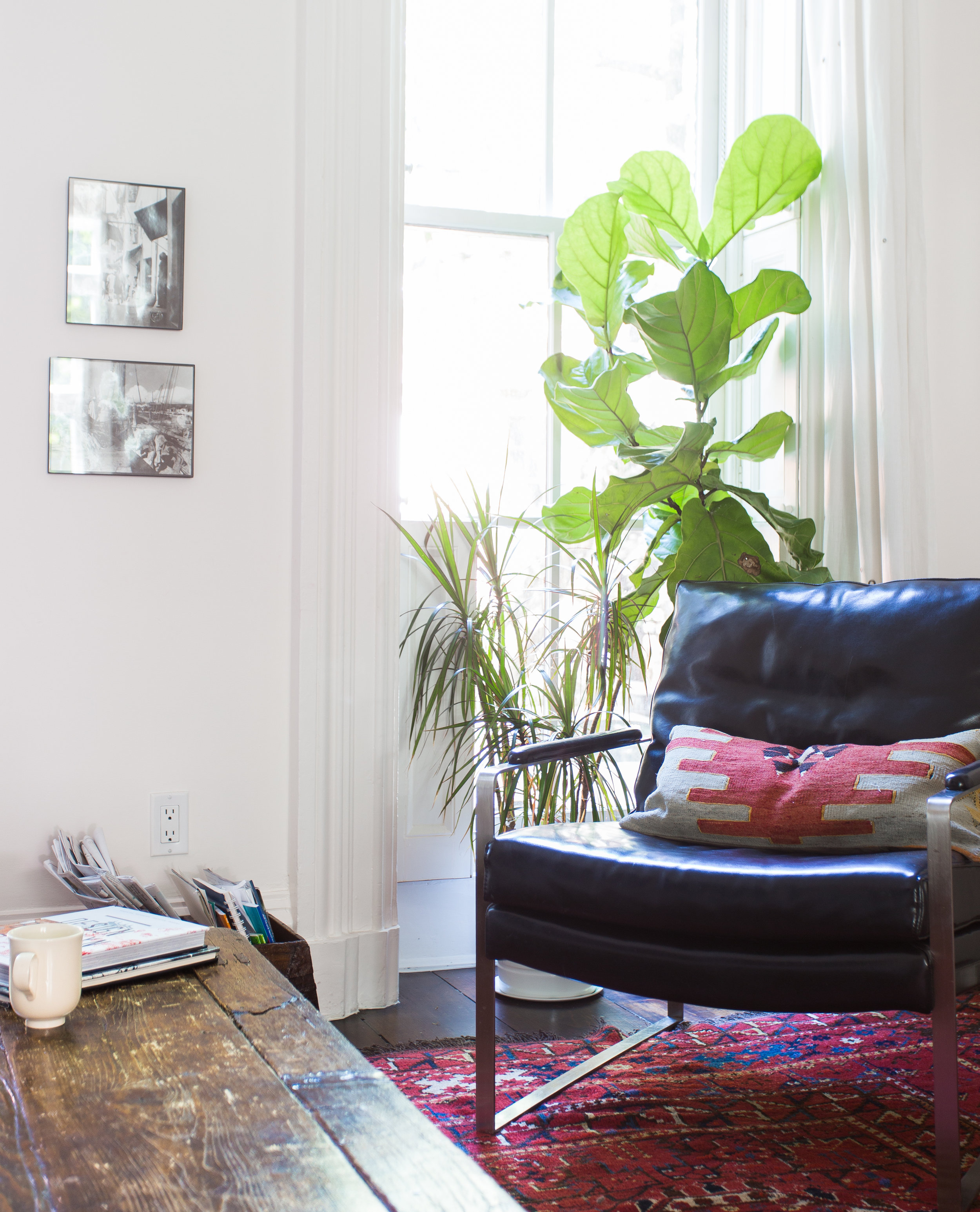 Indigo & Ochre Design Cobble Hill Vintage Chair