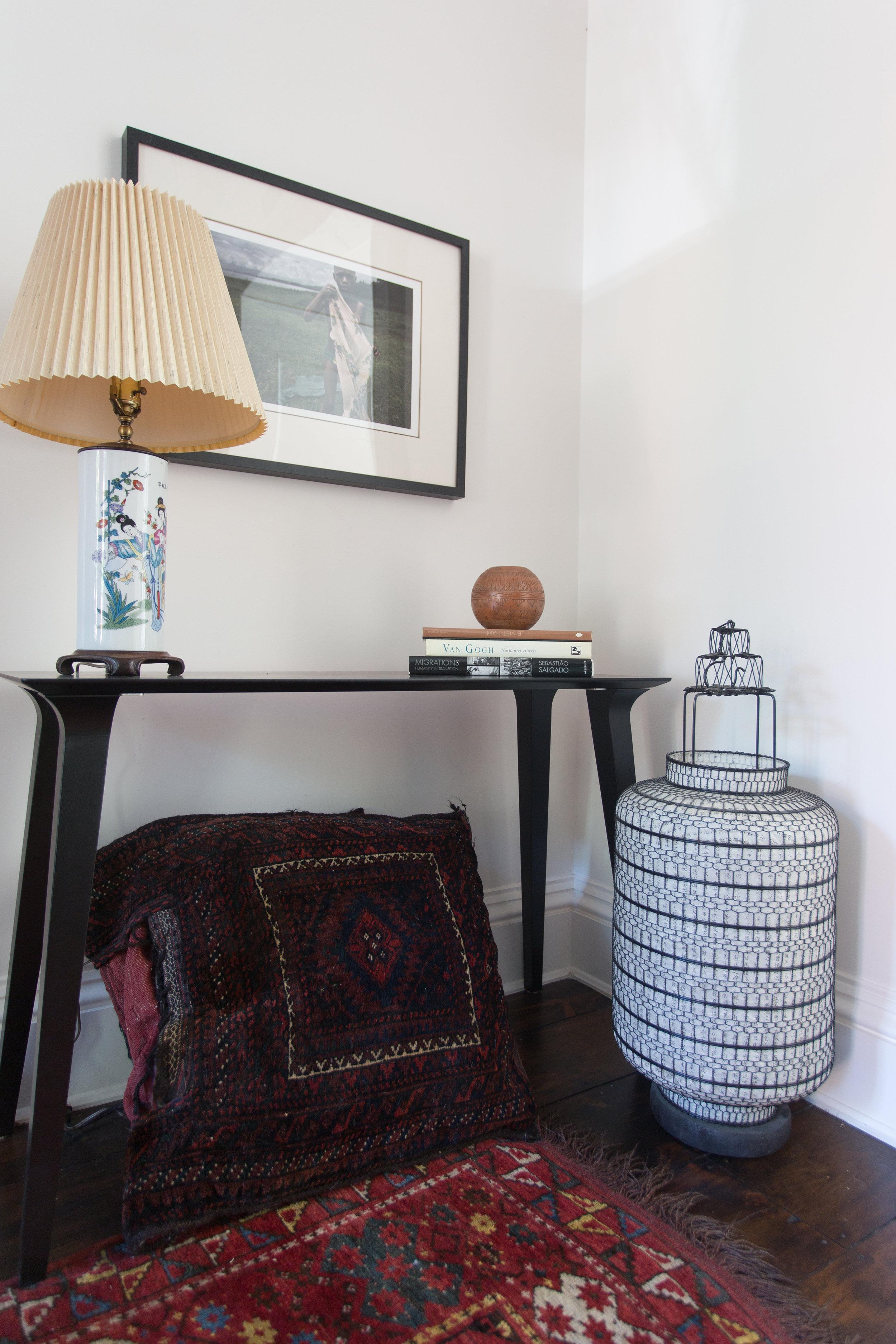 Indigo & Ochre Design Cobble Hill console