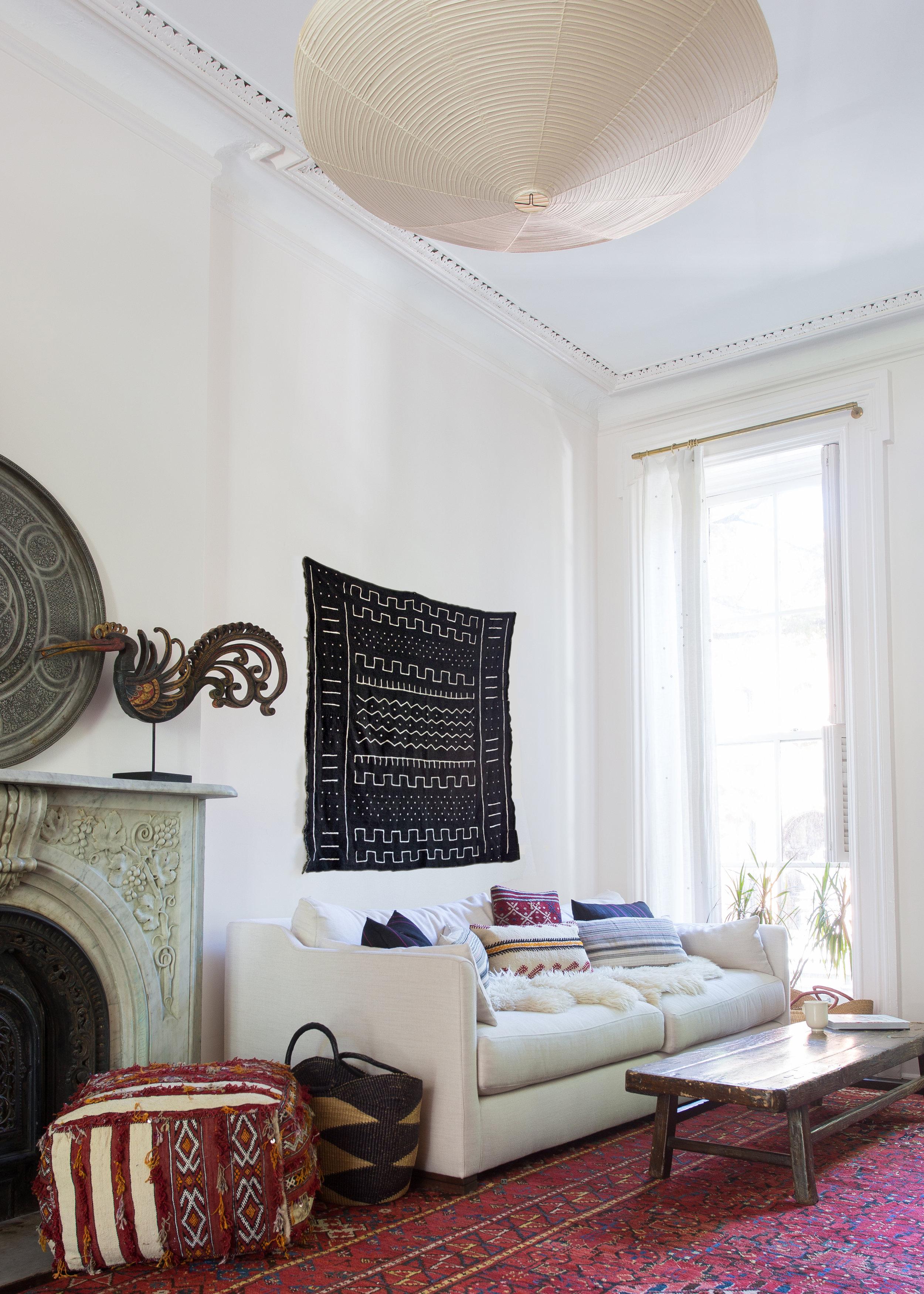 Indigo & Ochre Design Cobble Hill Living Room