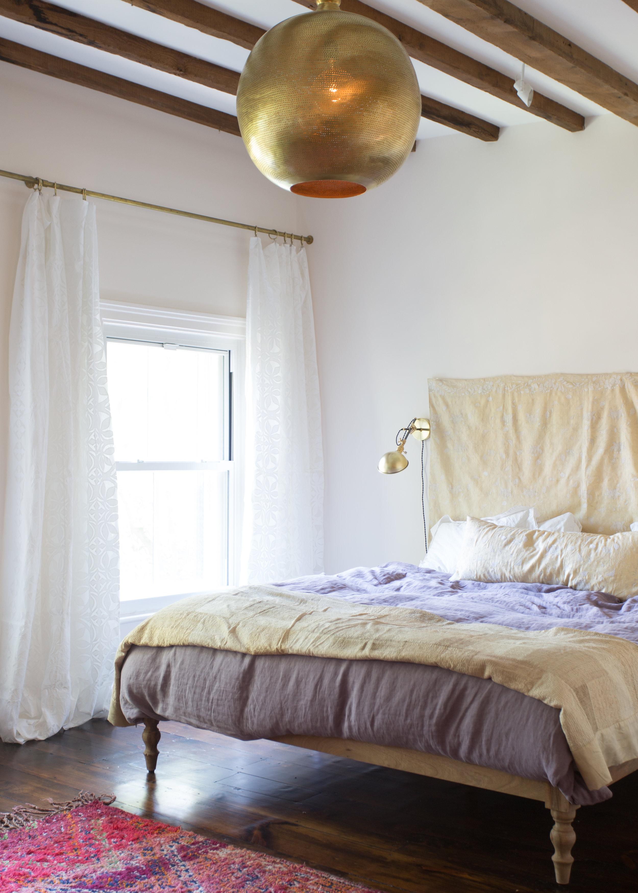 Indigo & Ochre Design Cobble Hill Master Bed