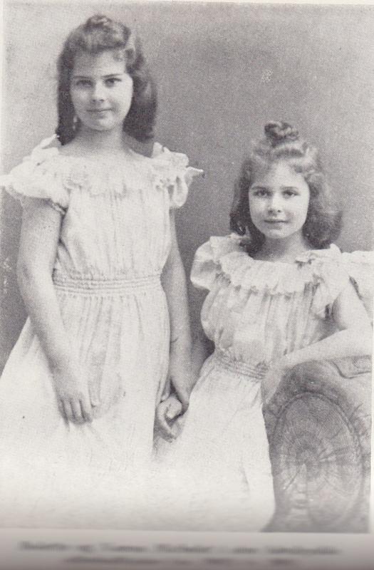 Bolette og Nanna Michelet