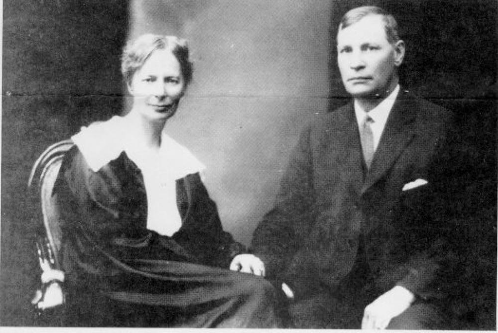 August og Anna Rudd