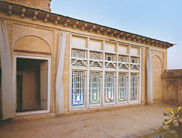 Bábs hus i Shiraz, nå ødelagt, der han erklærte sin misjon den 23. mai 1844. FOTO: bahai.org