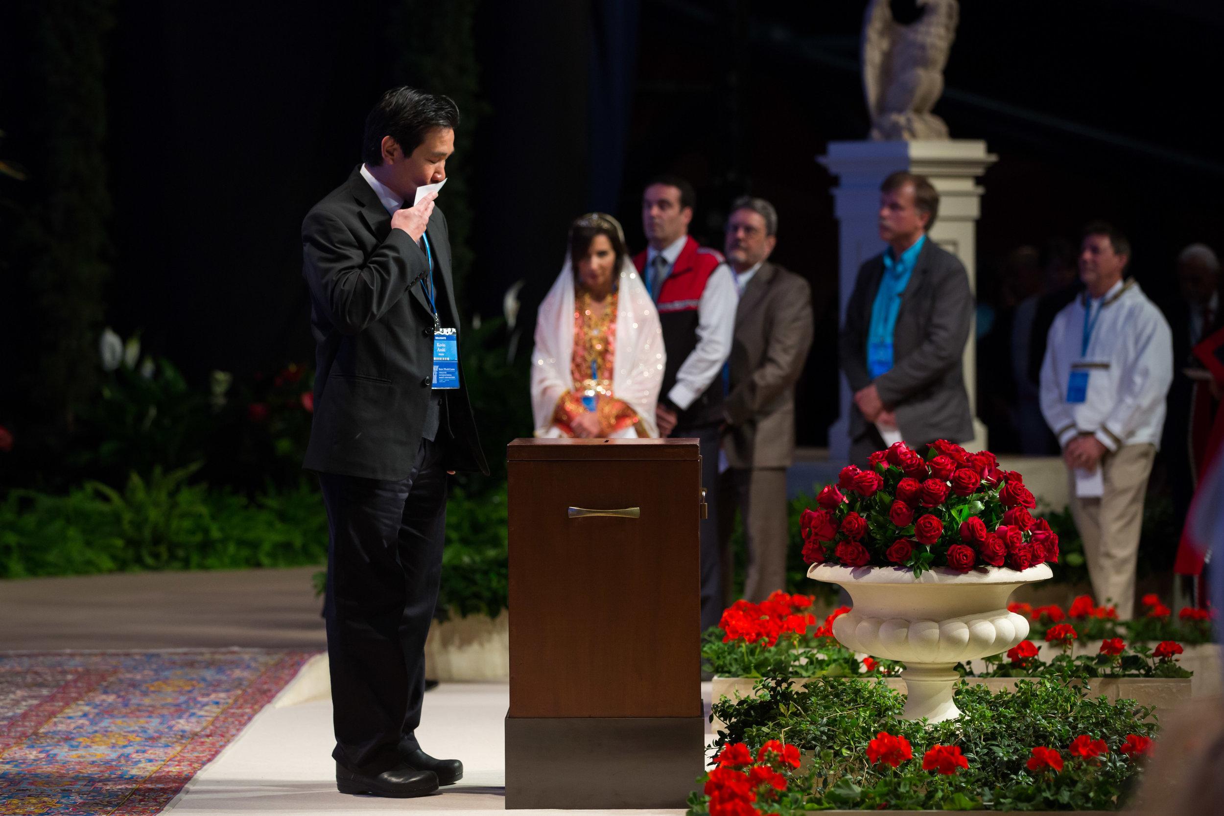 Valget av Det Universelle Rettferdighetens Hus kjennetegnes ved en spesiell og åndelig atmosfære. Foto: bahai.org