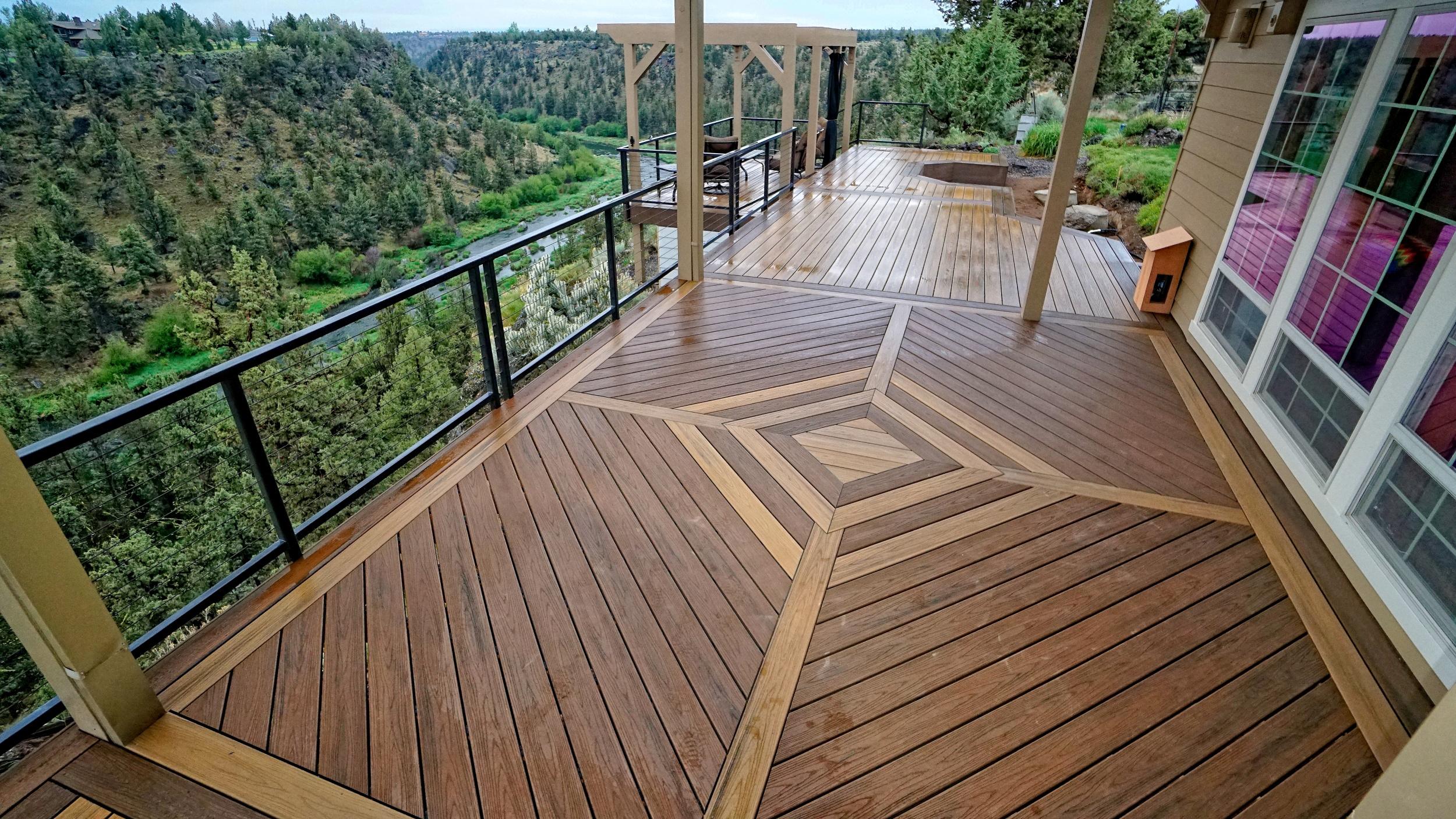 Trex deck. Redmond Oregon.