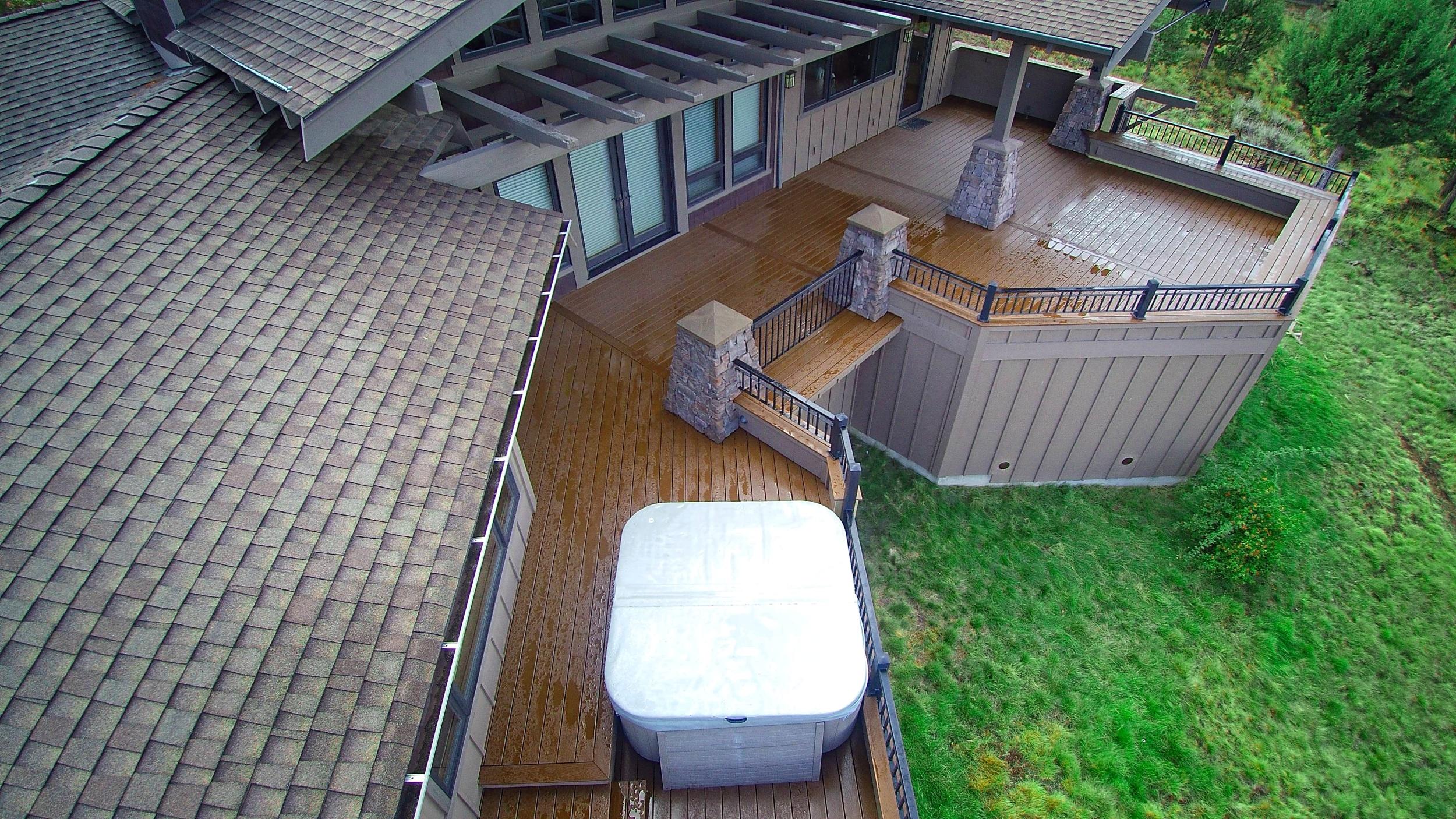 Trex deck. Bend Oregon.