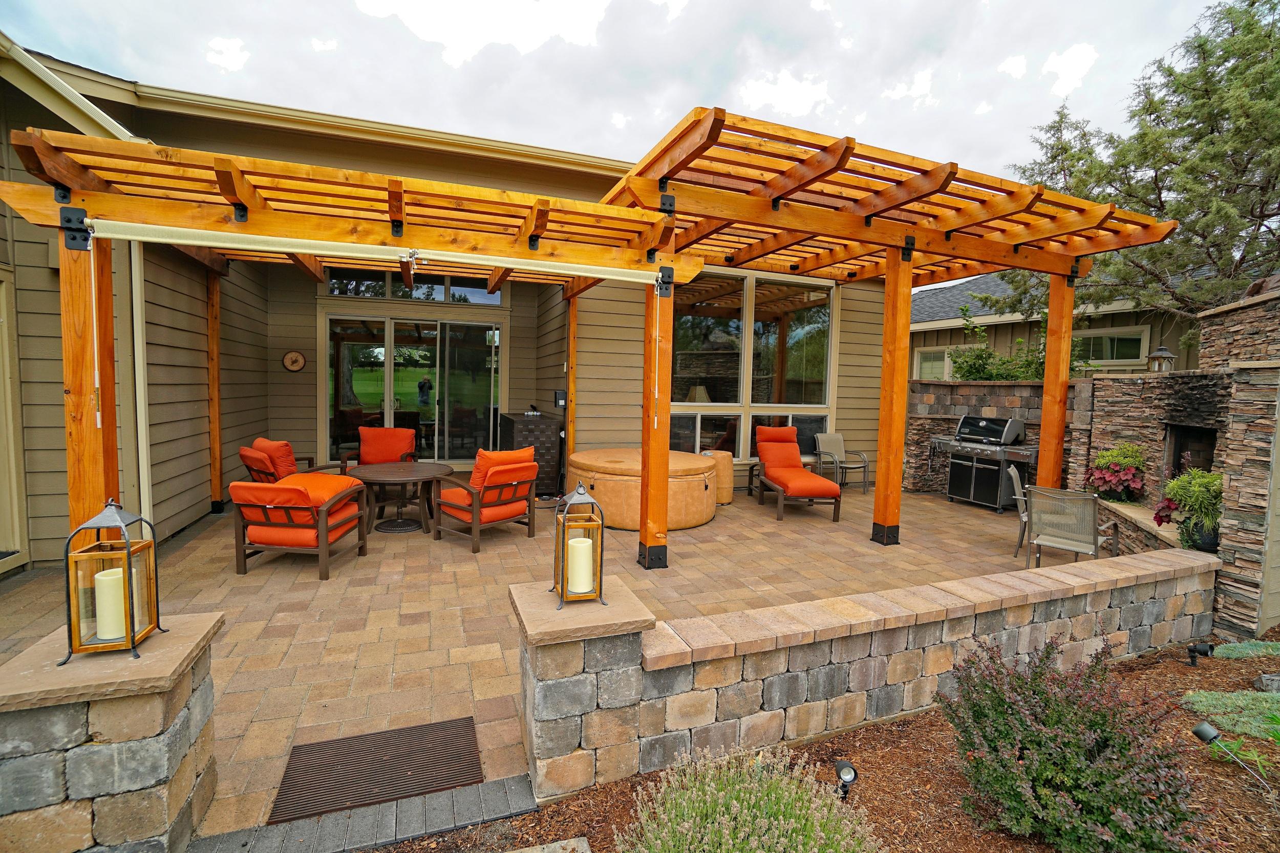Cedar Pergola, Eagle Crest Oregon