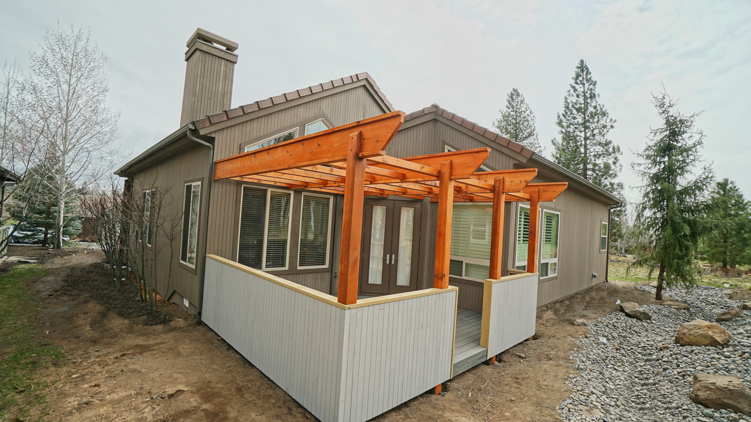 Pergola, Broken Top Resort, Bend Oregon