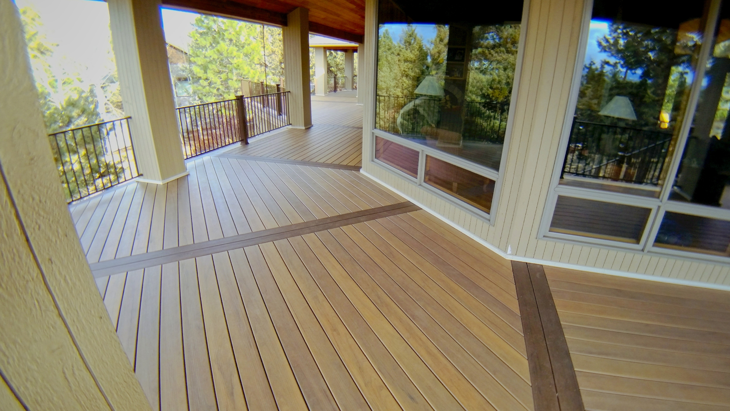 Converted to TimberTech Legacy with updated rails. Awbrey Butte Bend Oregon