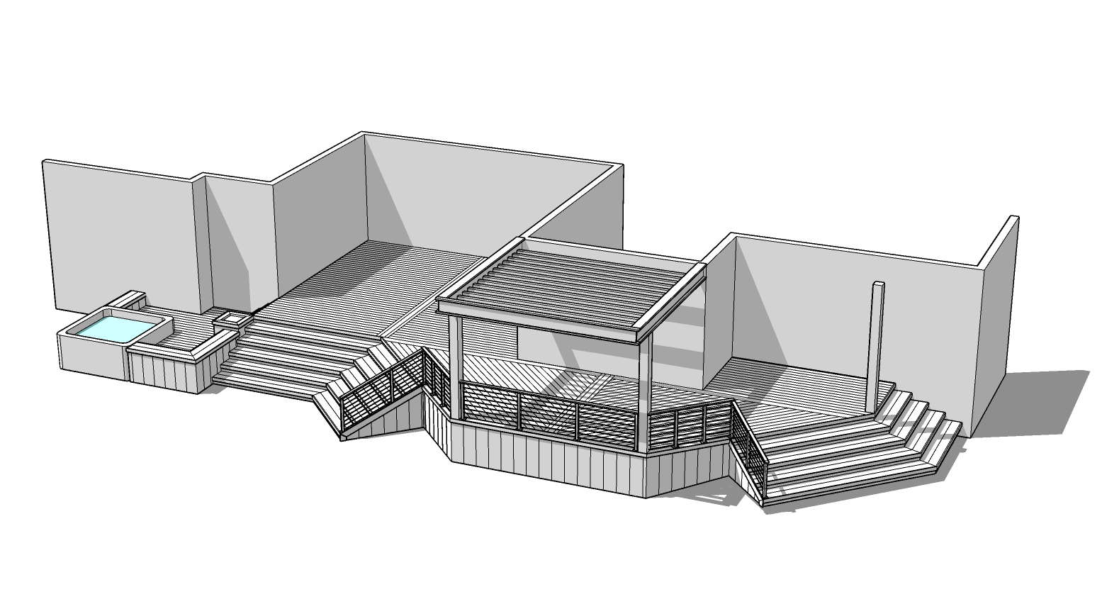 Design - Every deck begins with a basic design plan which is critical to the success of any project. Whether you know in advance exactly what you want or whether you're overwhelmed by the idea of creating a deck space alone, we're here to help.