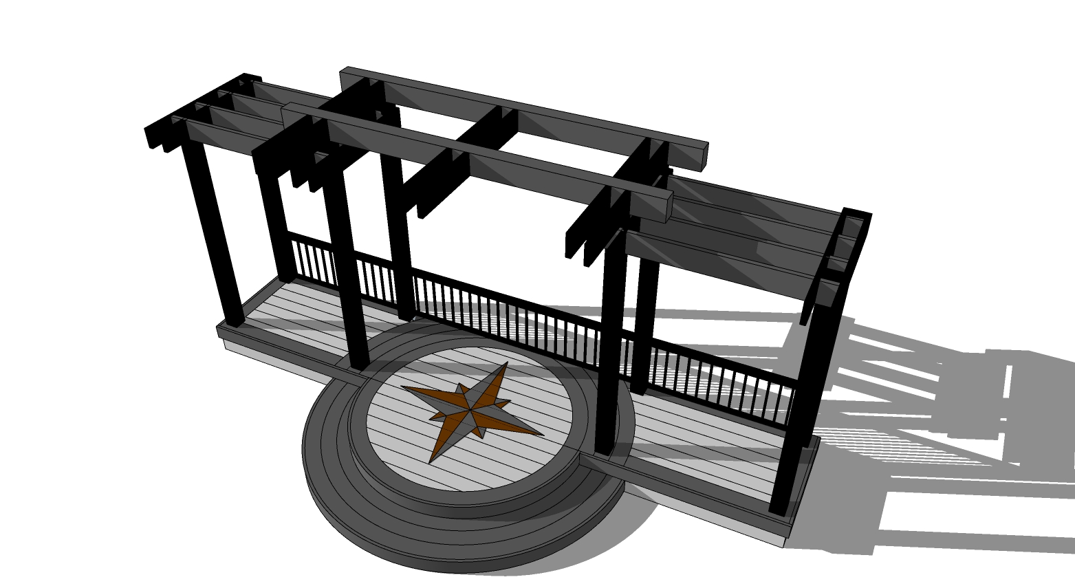 Design - A successful deck project begins with a basic design plan and quality communication regarding that plan. This does not always require professionally developed renderings and/or plans but it does require a clear understanding of a client's wants, needs, and budget.  Whether you know in advance exactly what you want or whether you're overwhelmed by the idea of creating a deck space alone, we're here to help.