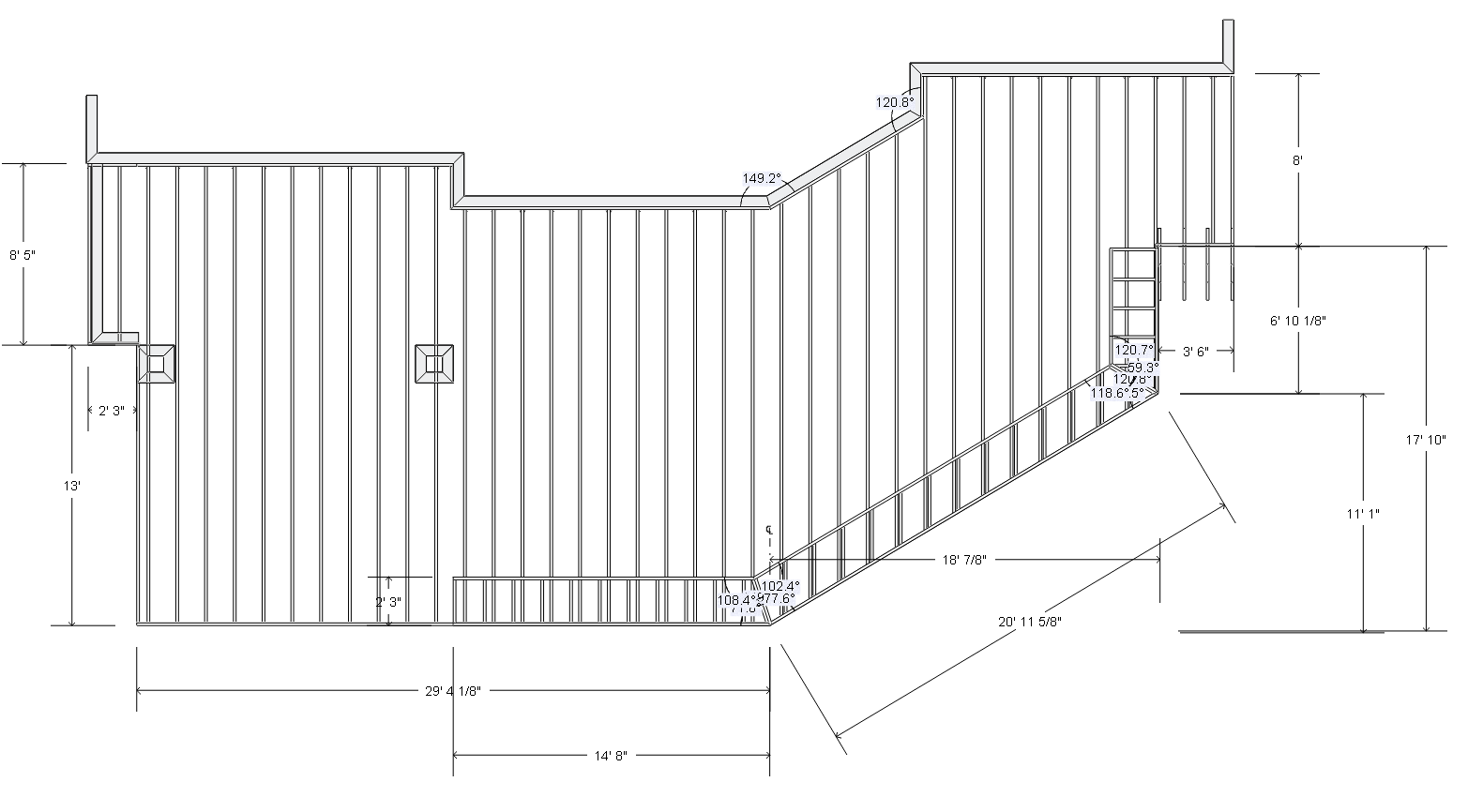 """Plans and Permits - Any deck over 30"""" tall will require a city/county permit and is something we can oversee."""