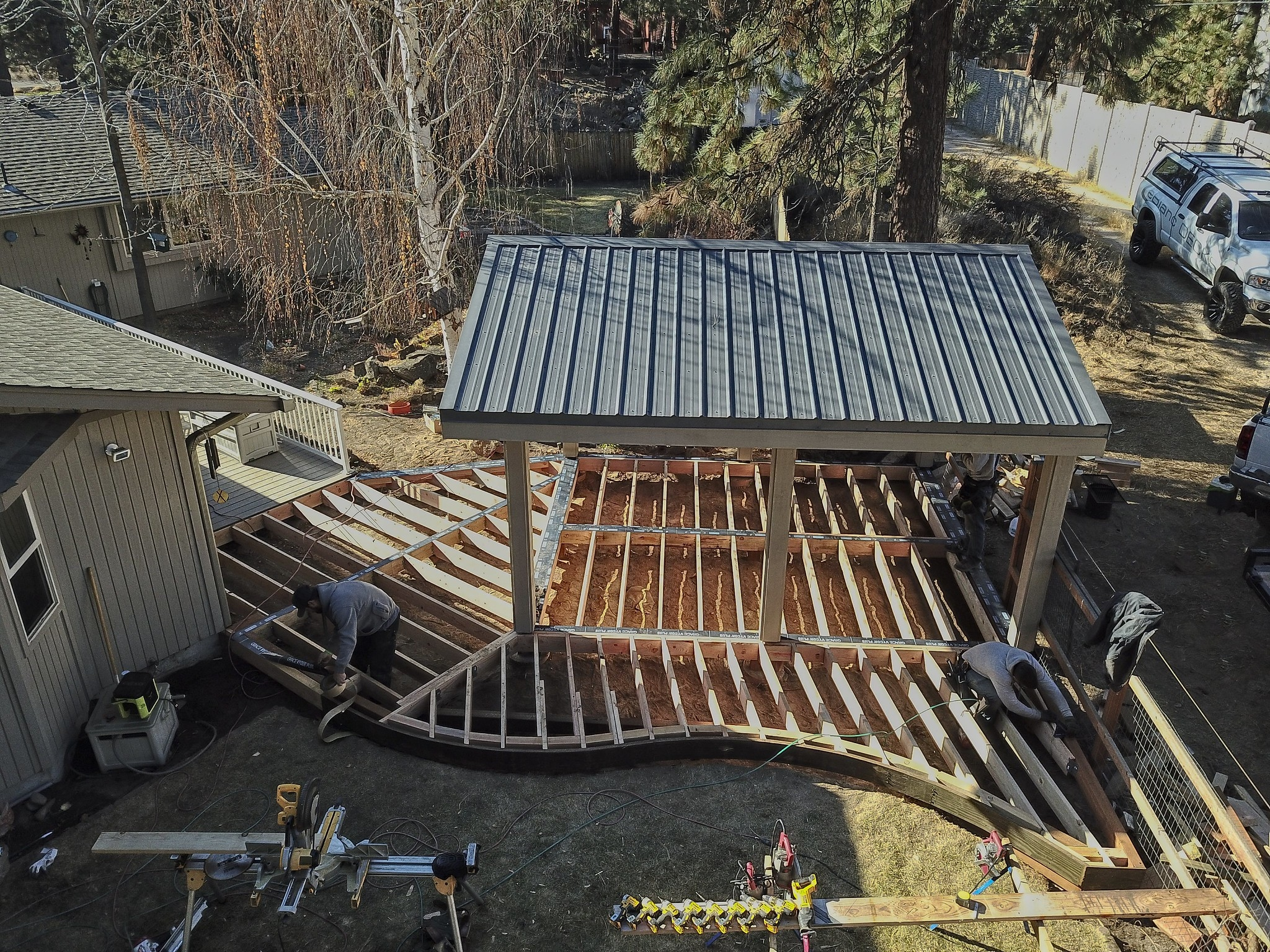 Construction - Using the best practices possible, we build each deck with care and attention to detail.