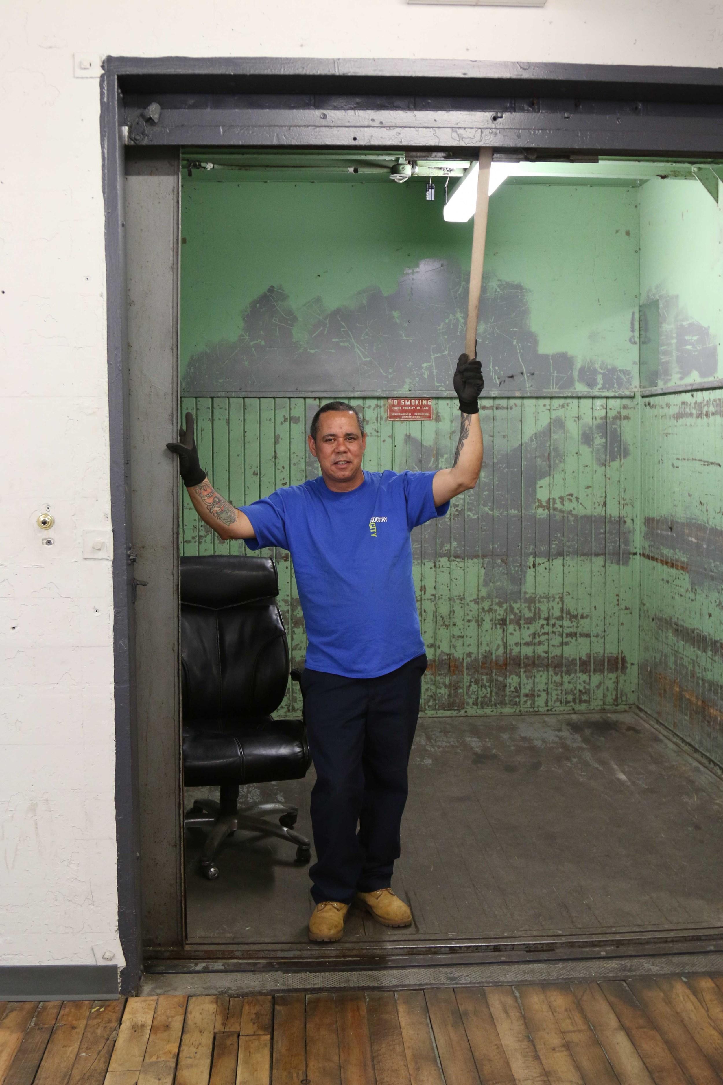 Meet Fernando, freight elevator operator