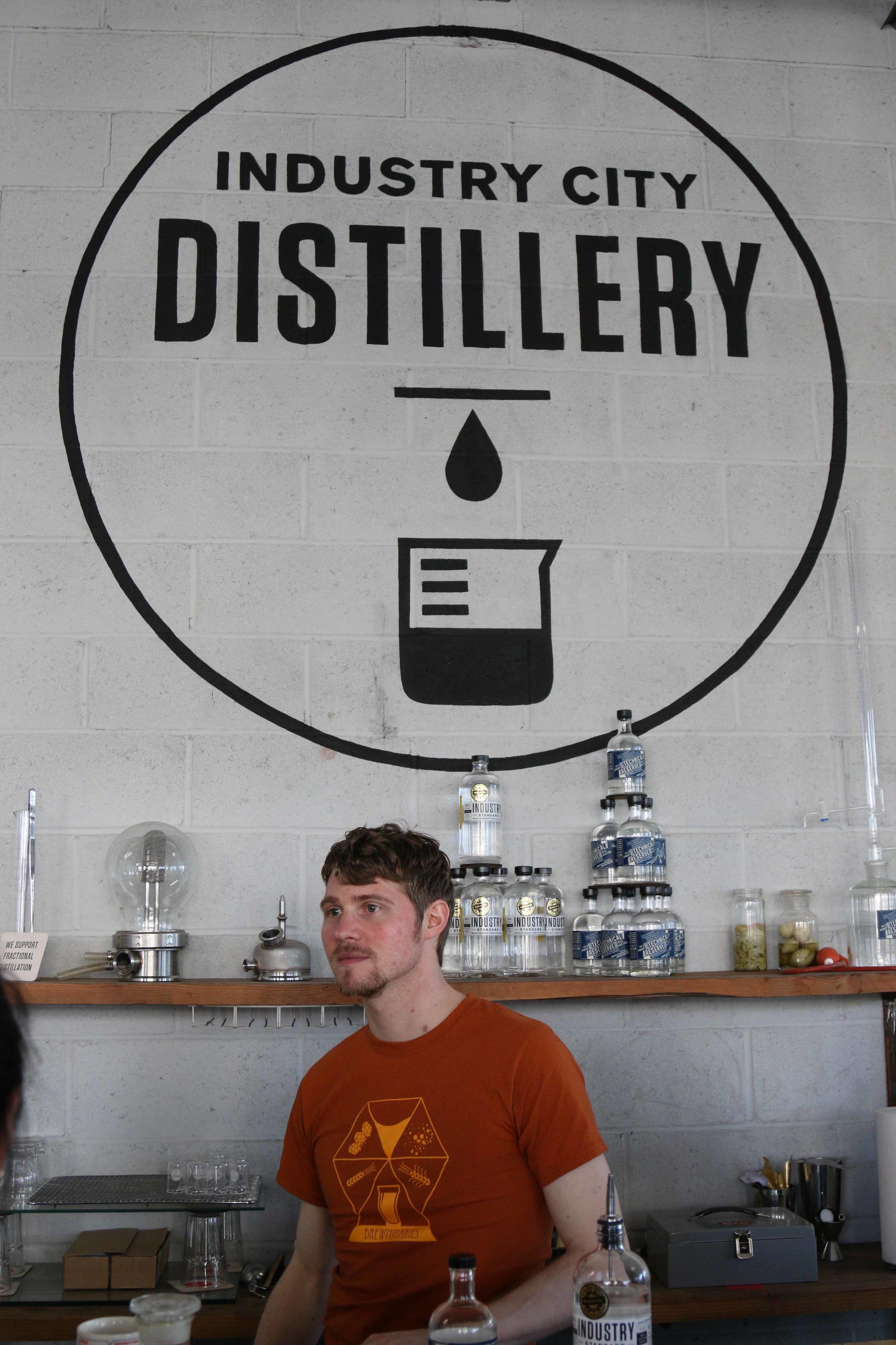 Meet David of Industry City Distillery