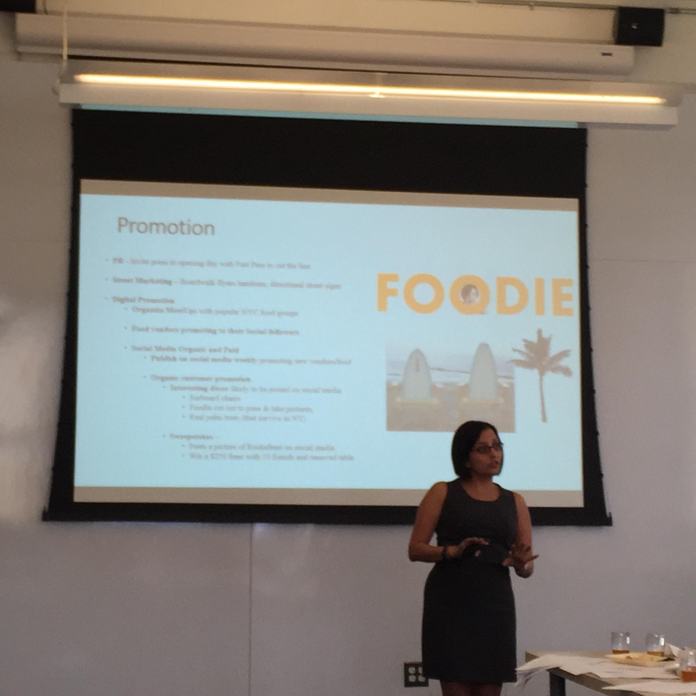 Leslie Heredia is working on Rockafeast, an outdoor summer food festival during the summer in Rockaway Beach.
