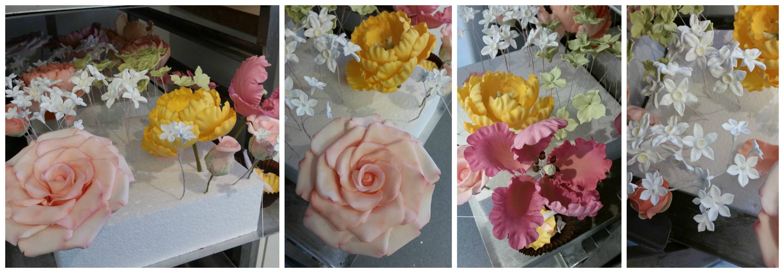Peggy Porschen Flower Academy: the students' work