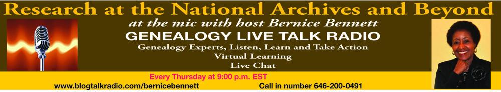 Genealogy Live Talk Radio