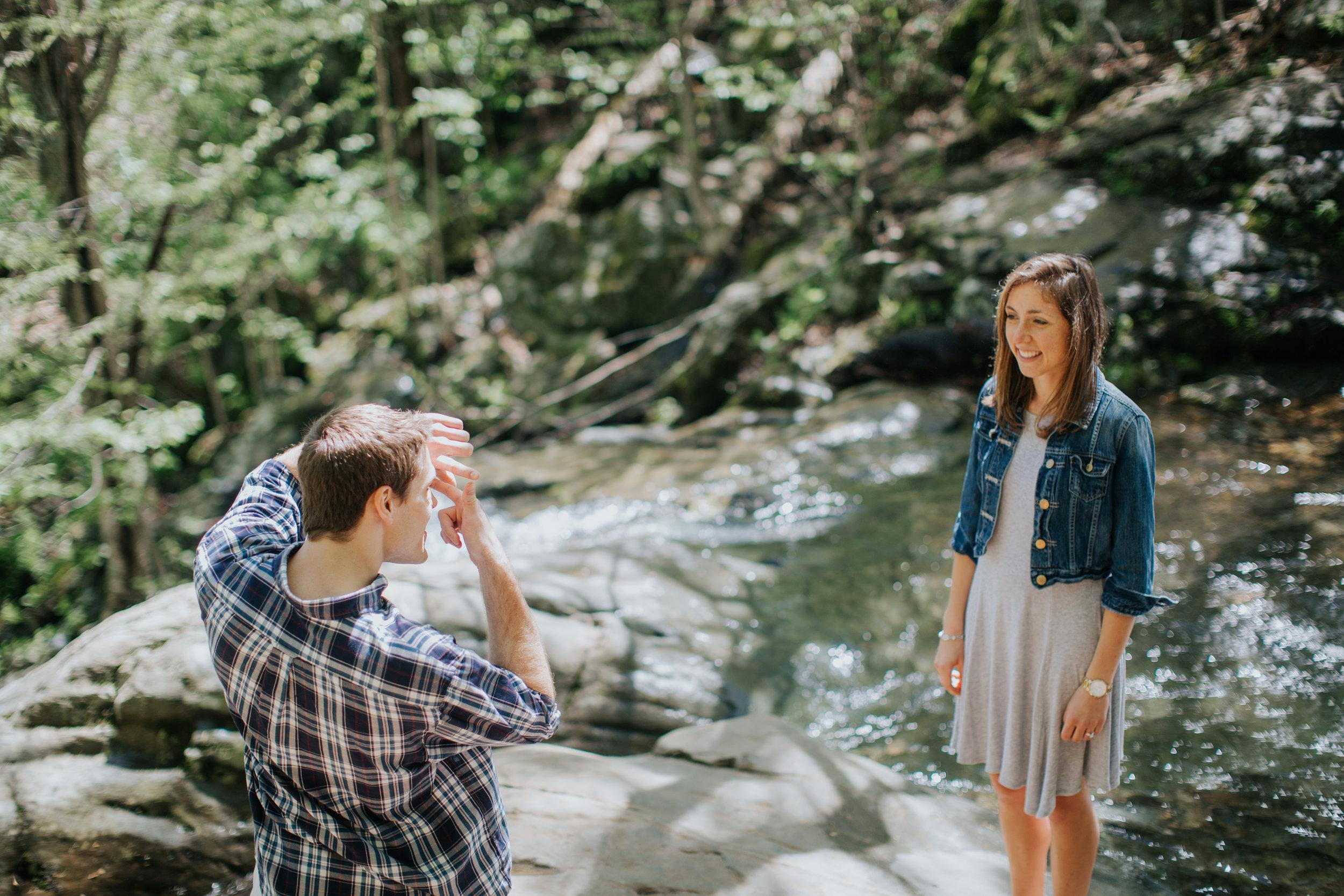 Shenandoah engagement session