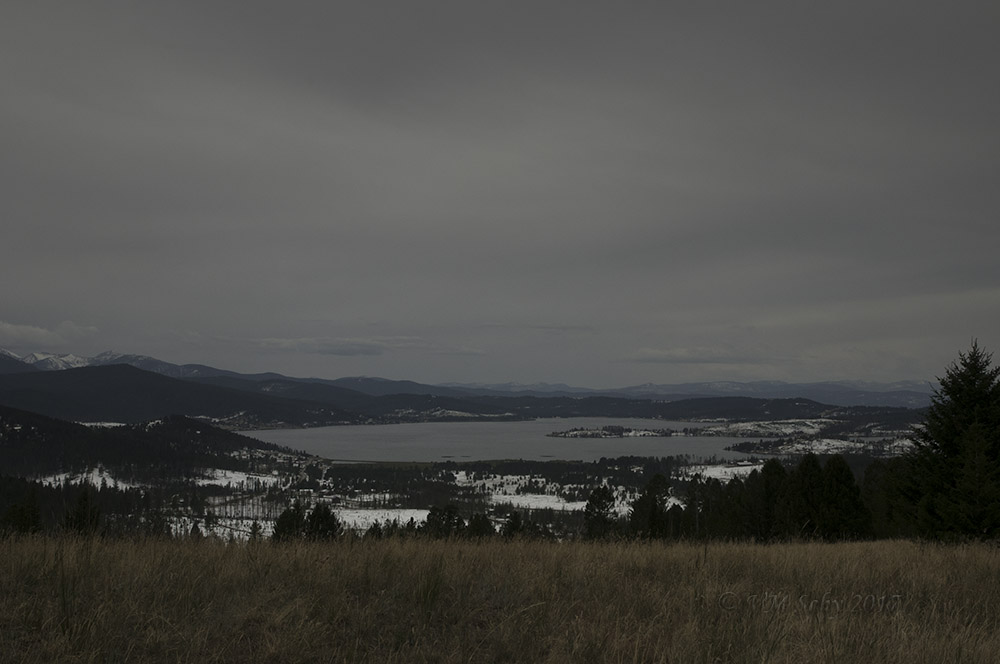 Beautiful view of Georgetown Lake.
